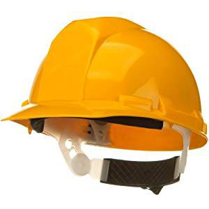 Standard yellow hard hat